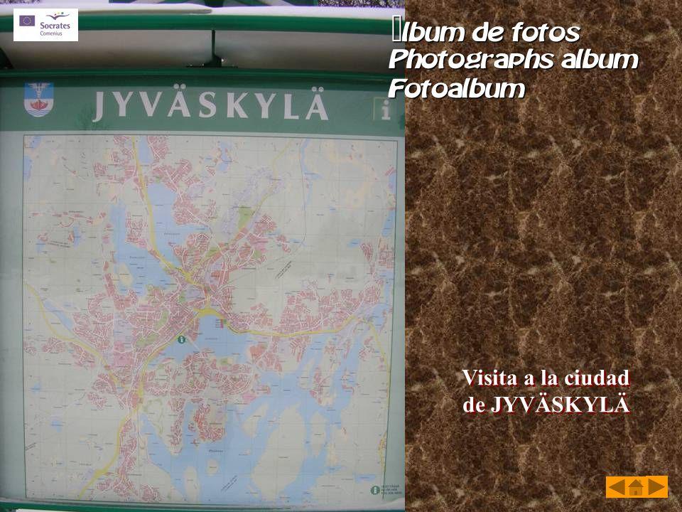 Visita a la ciudad de JYVÄSKYLÄ Visita a la ciudad de JYVÄSKYLÄ