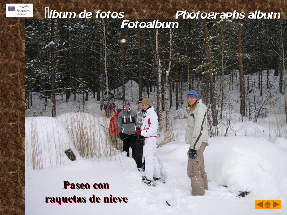 Paseo con raquetas de nieve Paseo con raquetas de nieve