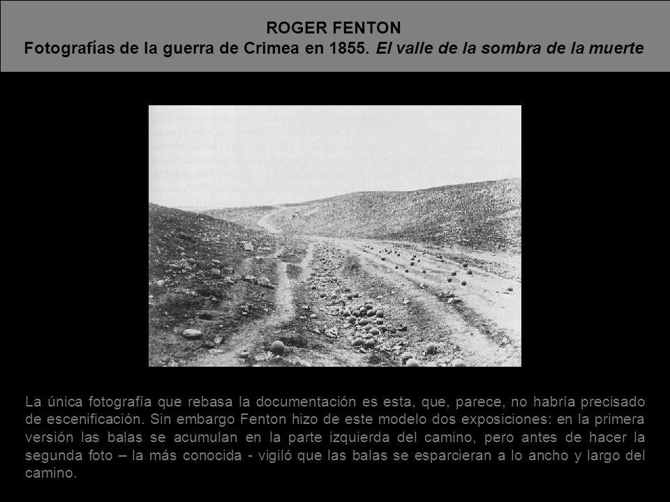 Tres años después de las fotos de Fenton, Beato celebra con esta foto la feroz victoria de los británicos en un motín de soldados nativos.