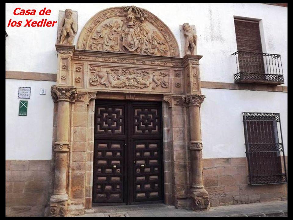 Patio del palacio de los Condes de Valdeparaiso