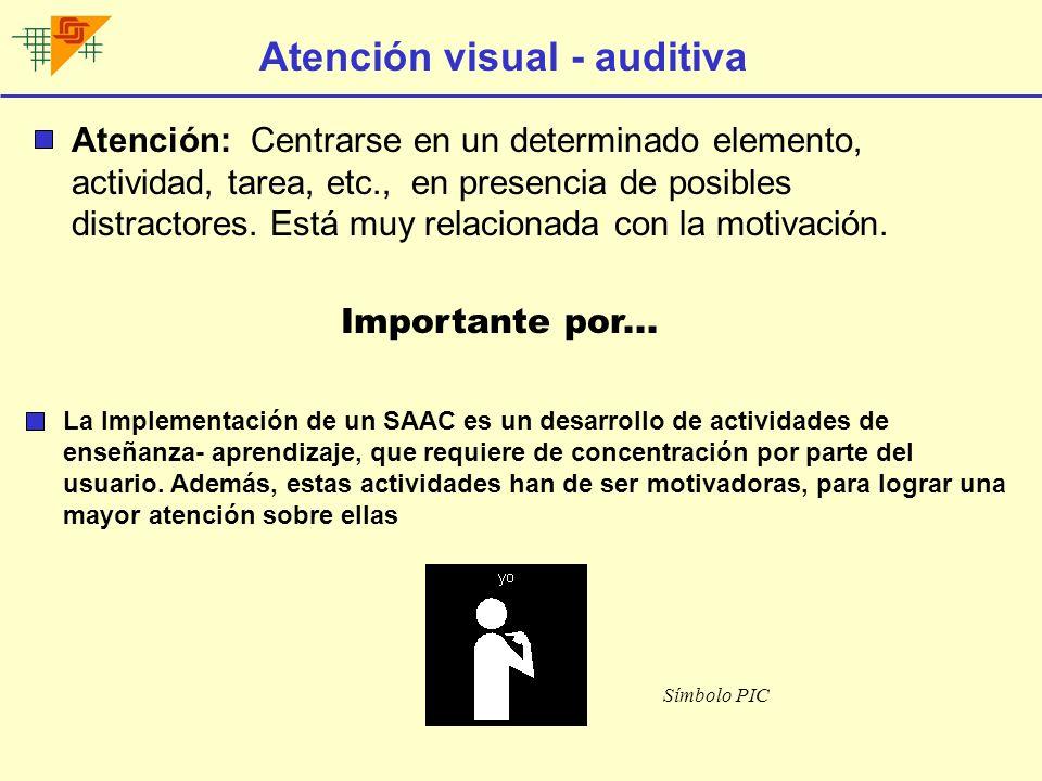 Discriminación visual-auditiva D.