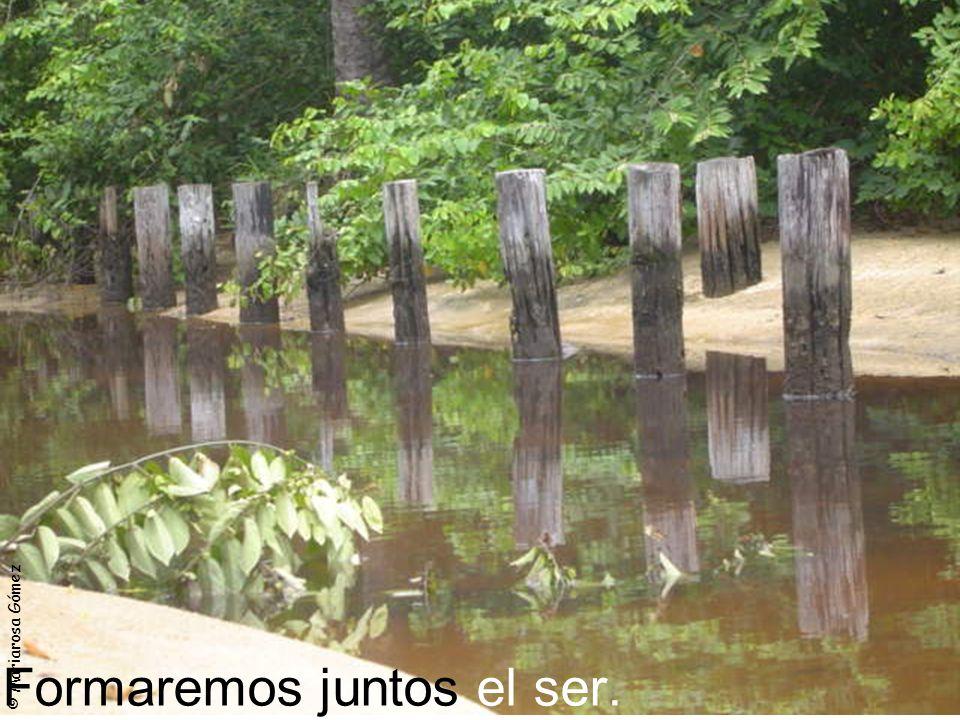 © Mariarosa Gómez Formaremos juntos el ser.