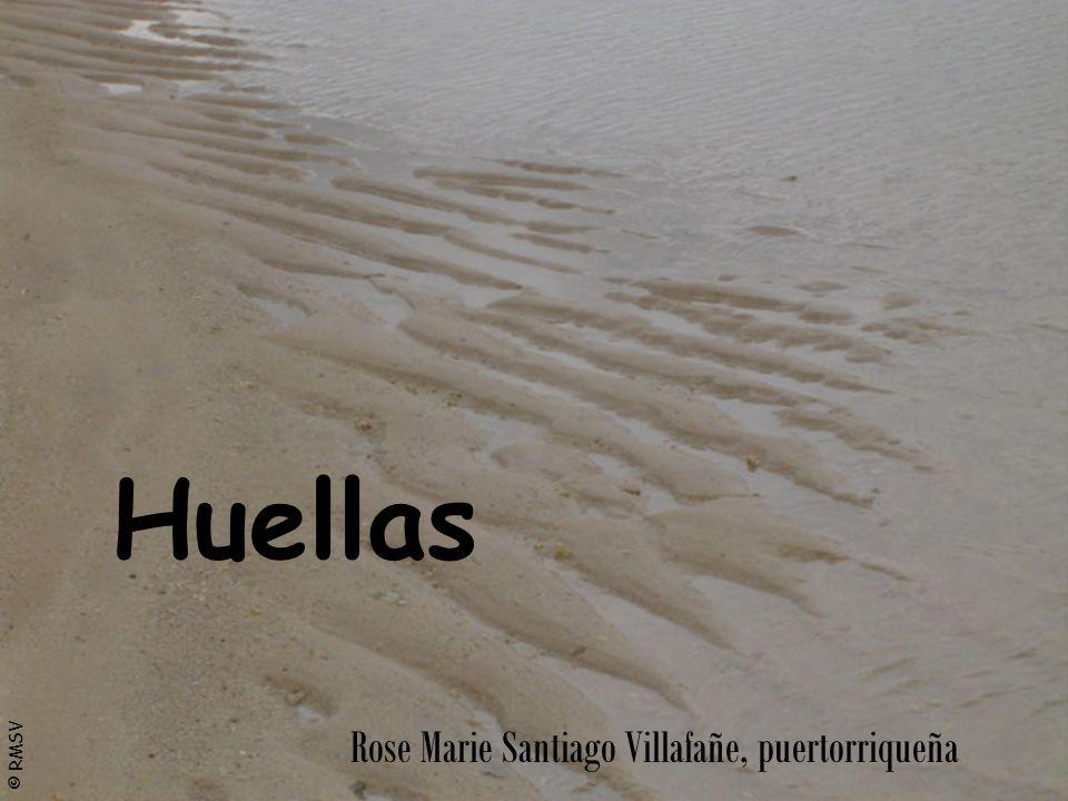 © RMSV Huellas Rose Marie Santiago Villafañe, puertorriqueña