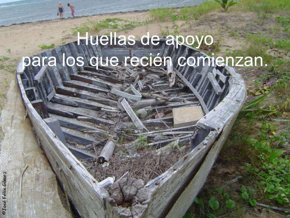 ©José Félix Gómez Huellas de apoyo para los que recién comienzan.