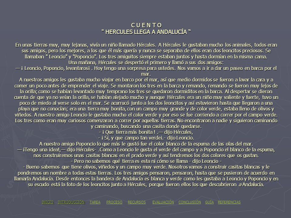 REFERENCIAS * OTRAS PÁGINAS WEB QUE HAN SERVIDO DE APOYO SON: -http://www.miradorvr.com/es/andalucia/mapa.htm -http://www.gratisweb.com/andalucia3/ban