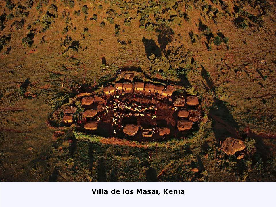 Casas Flotantes en Makoko, Botswana