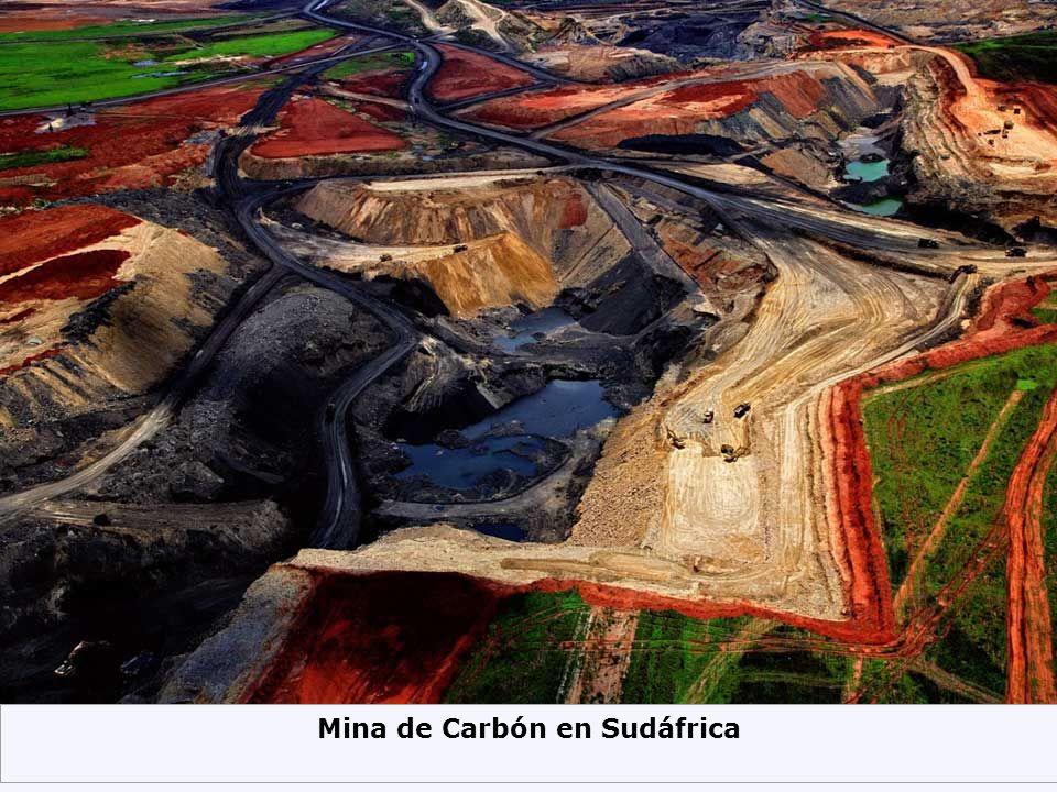 Mina de Carbón en Sudáfrica