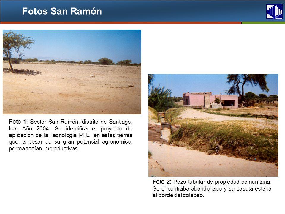 Fotos San Ramón Foto 1: Sector San Ramón, distrito de Santiago, Ica.