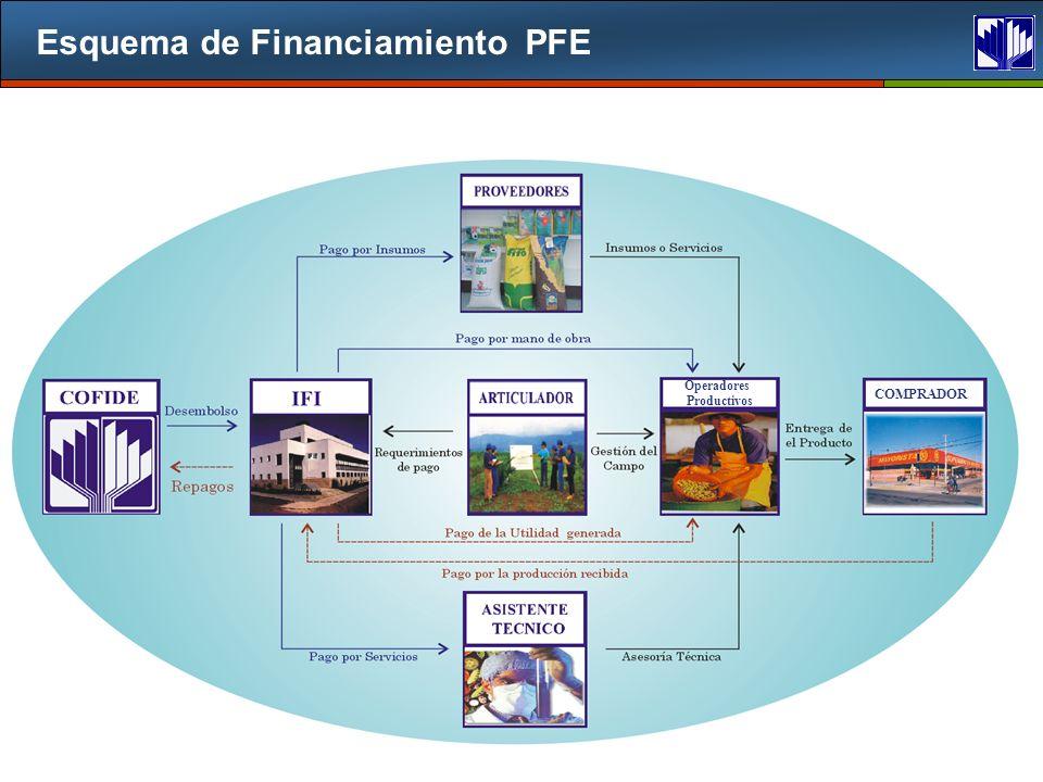 Esquema de Financiamiento PFE COMPRADOR Operadores Productivos