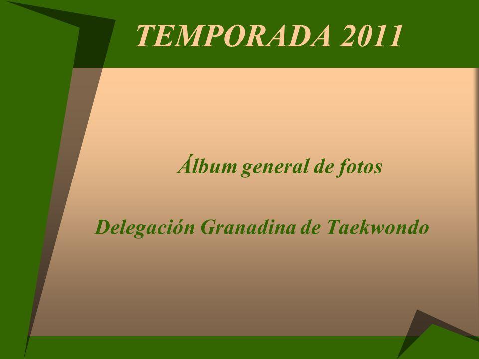 TEMPORADA 2011 Álbum general de fotos Delegación Granadina de Taekwondo