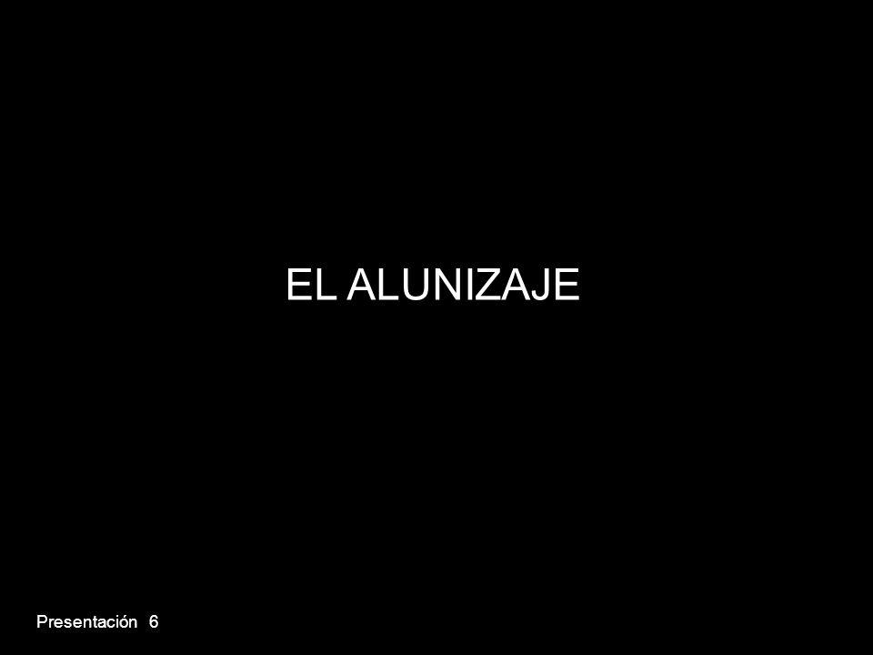 Presentación 6 EL ALUNIZAJE