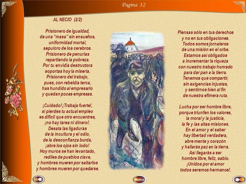 31 Definición de necio en el Diccionario de la Real Academia Española: 1.