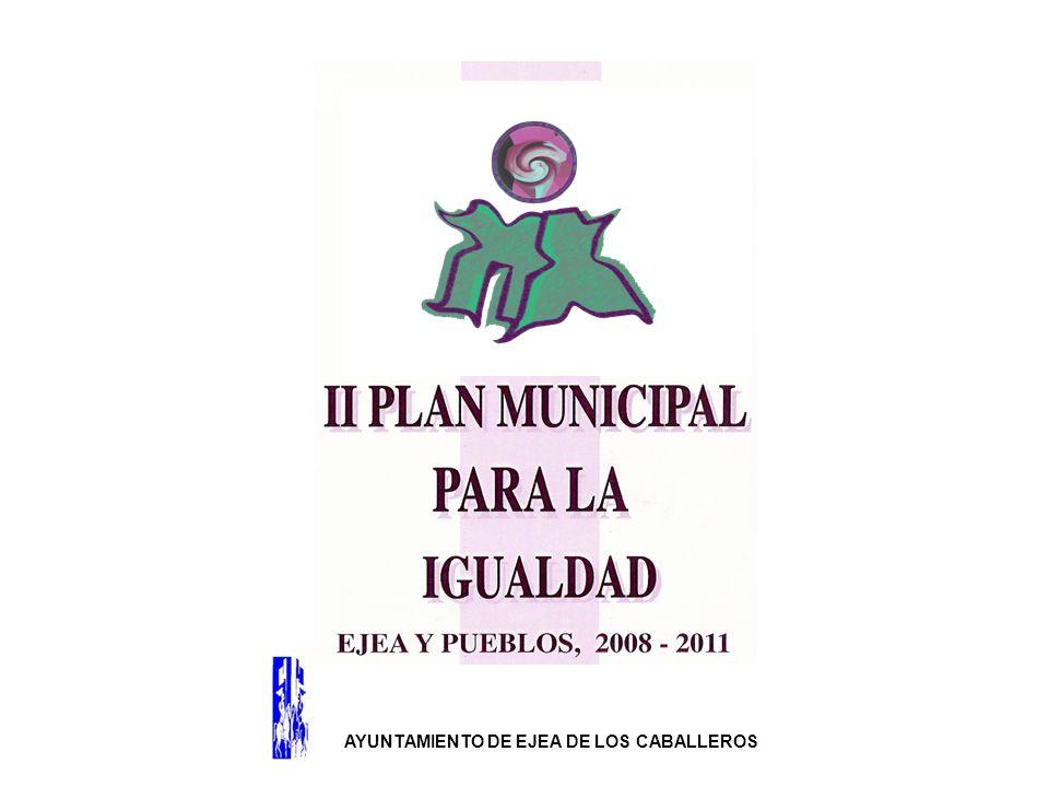 El II Plan Municipal para la Igualdad es: Una guía de actuación planificada resultado de un proceso evaluación – diagnóstica, que ha permitido ajustarlo a la situación real de desigualdades de las Mujeres y Hombres de Ejea y Pueblos.
