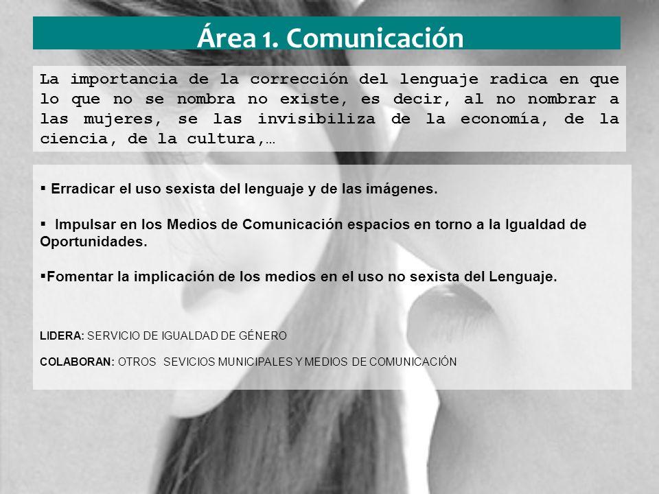 Área 2.Conciliación Impulsar la conciliación en las empresas.
