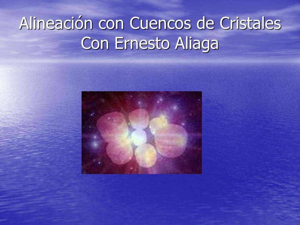 Alineación con Cuencos de Cristales Con Ernesto Aliaga