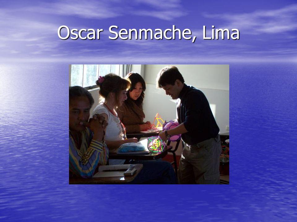 Oscar Senmache, Lima