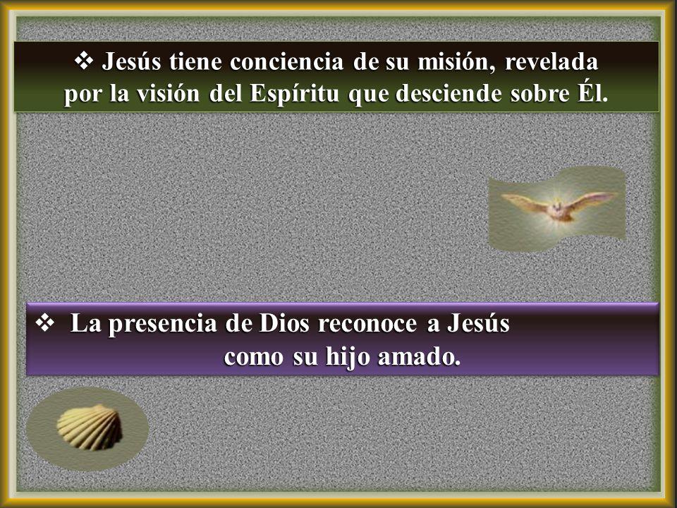 El diálogo refleja la superioridad del Mesías y el humilde puesto que corresponde al Bautista.