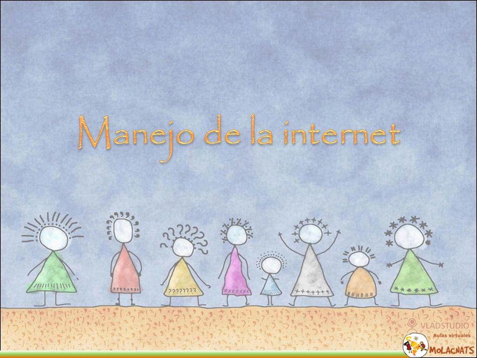La internet o red interna nos da un mundo de posibilidades que debemos saber aprovechar y saber utilizar.