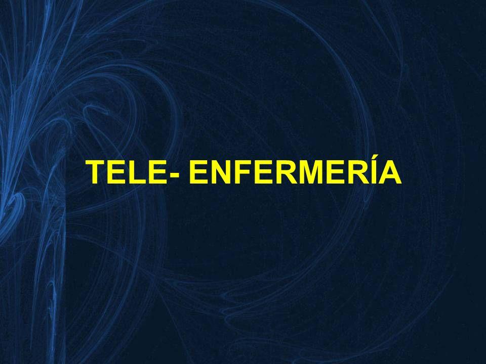 TELE- ENFERMERĺA