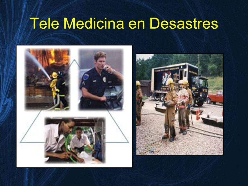 Tele Medicina en Desastres