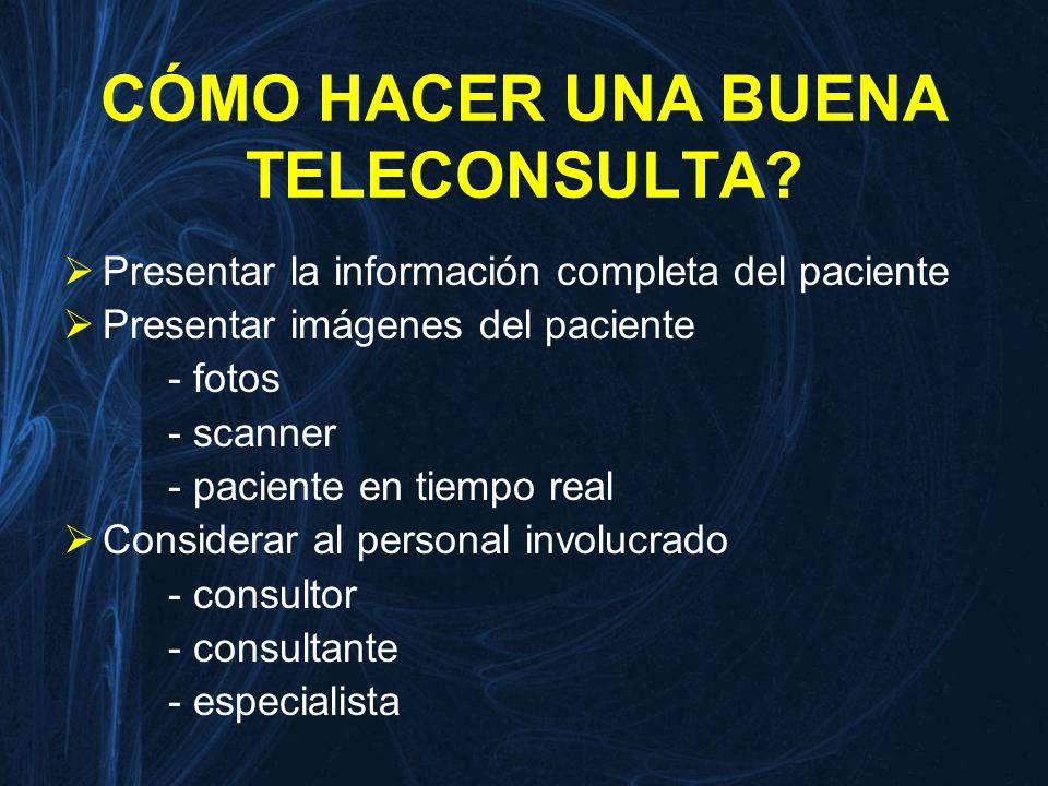 Tele- Ecocardiografía