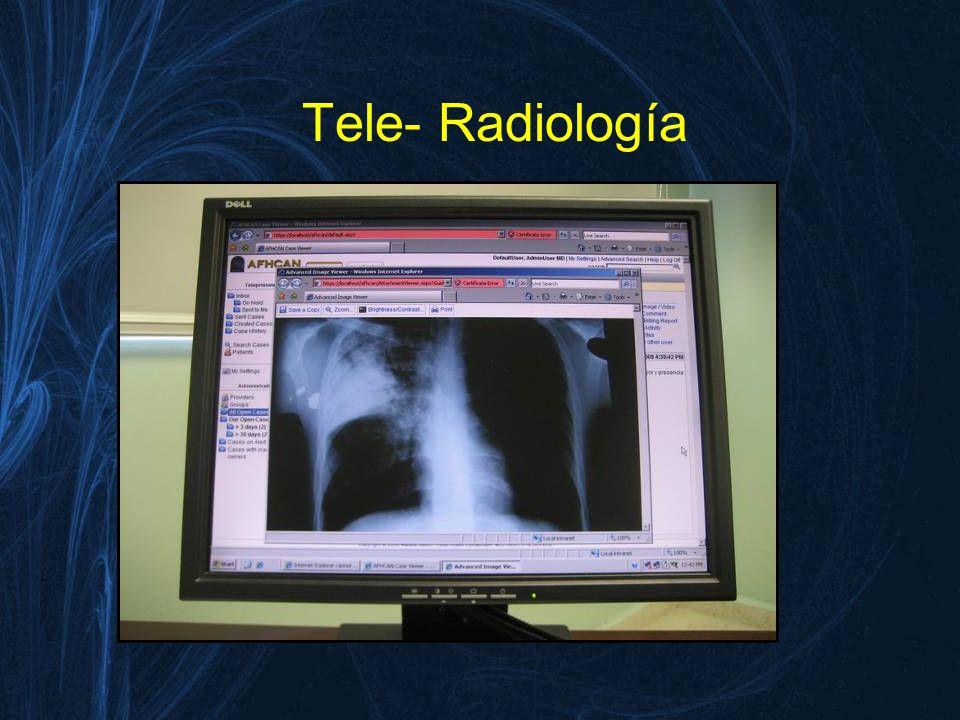 Tele- Patología