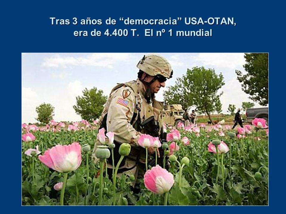 Tras 3 años de democracia USA-OTAN, era de 4.400 T. El nº 1 mundial