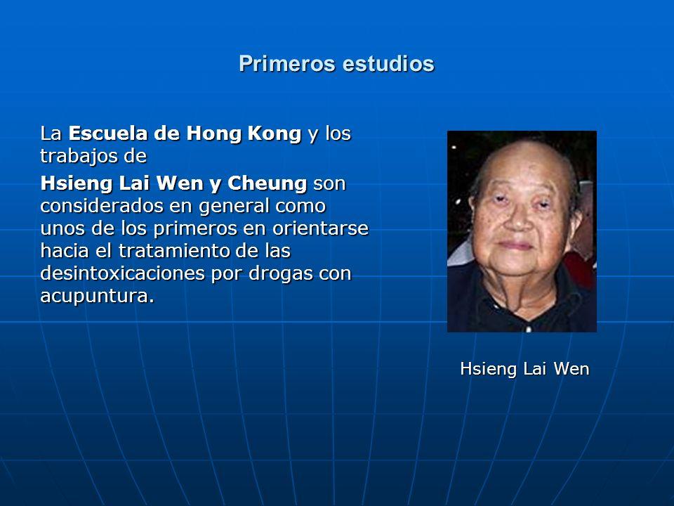 Primeros estudios La Escuela de Hong Kong y los trabajos de Hsieng Lai Wen y Cheung son considerados en general como unos de los primeros en orientars