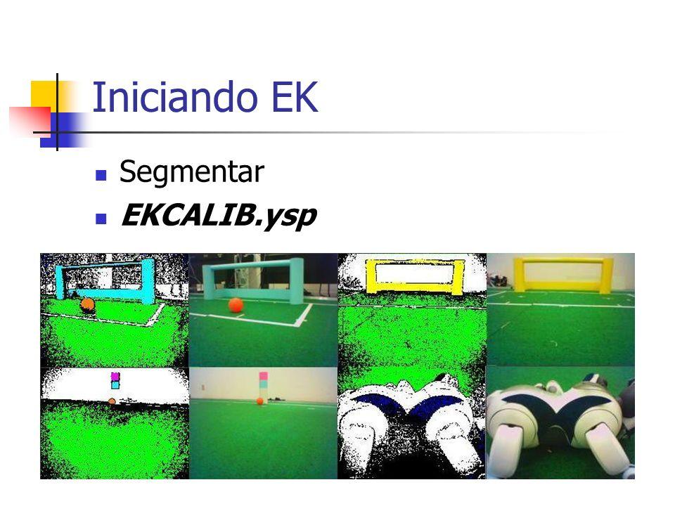 Iniciando EK Segmentar EKCALIB.ysp
