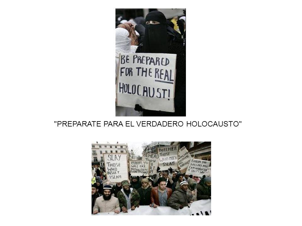 PREPARATE PARA EL VERDADERO HOLOCAUSTO