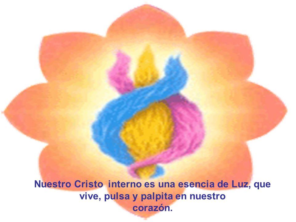 Nuestro Cristo interno es una esencia de Luz, que vive, pulsa y palpita en nuestro corazón.