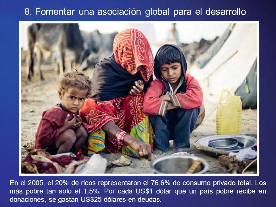 7. Garantizar la sostenibilidad del medio ambiente.