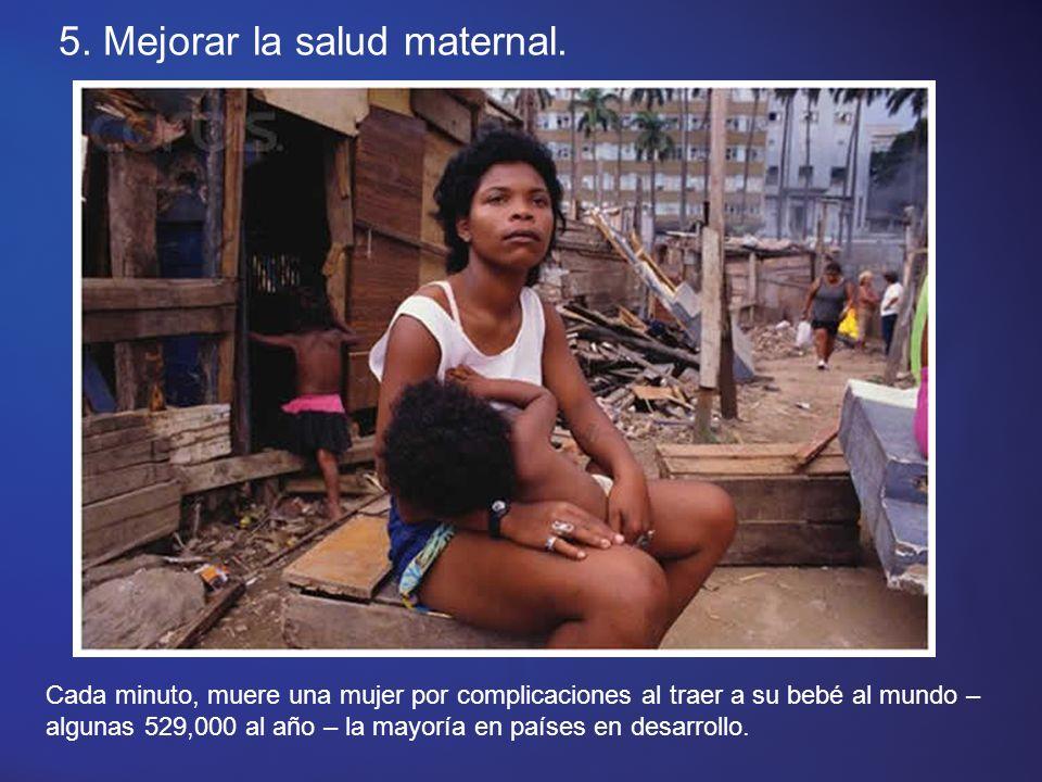 4. Reducir la mortalidad infantil.
