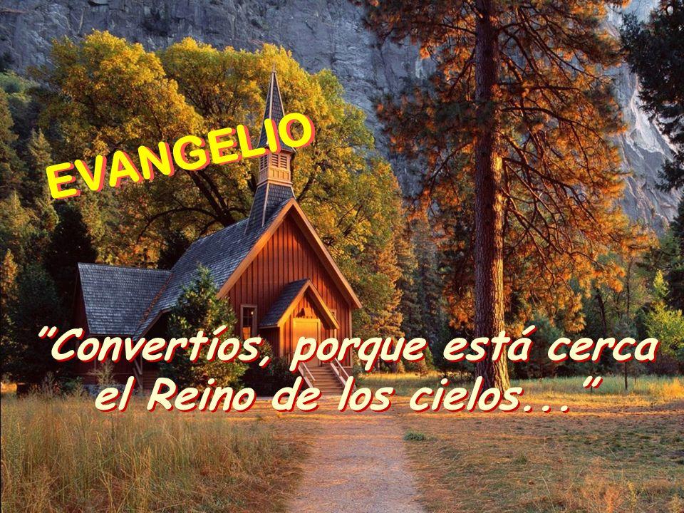 Preparad el camino al Señor, allanad sus senderos. Todos verán la salvación de Dios. Preparad el camino al Señor, allanad sus senderos. Todos verán la