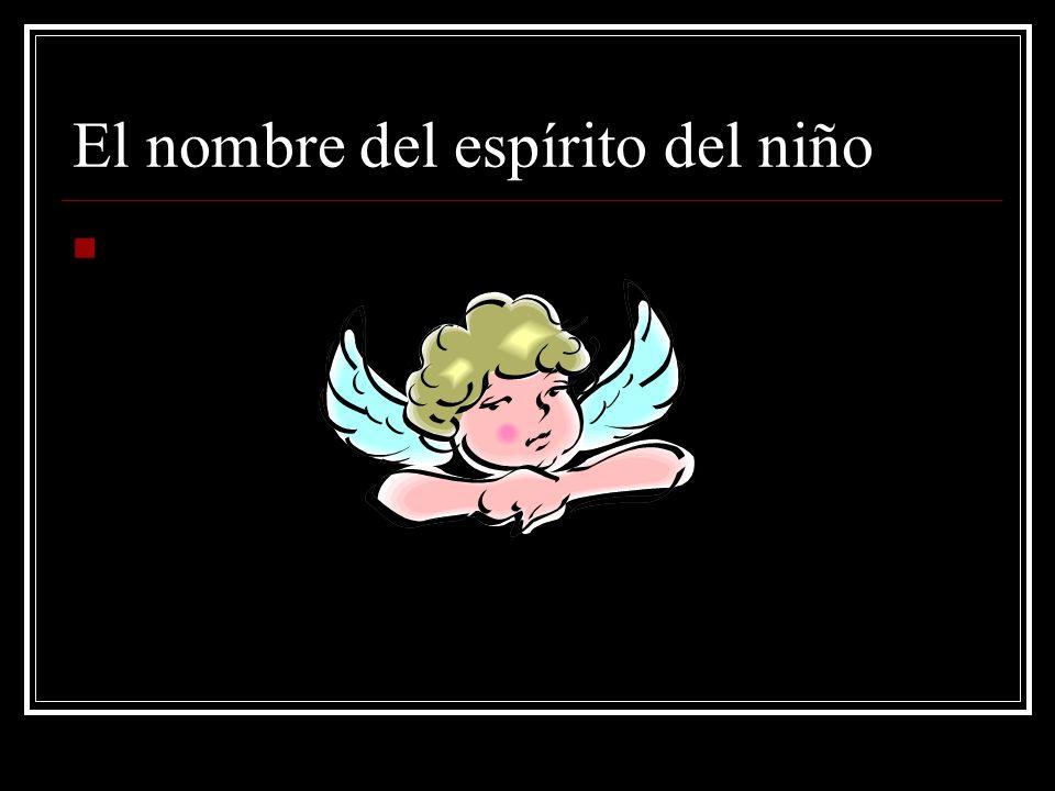 El nombre del espírito del niño