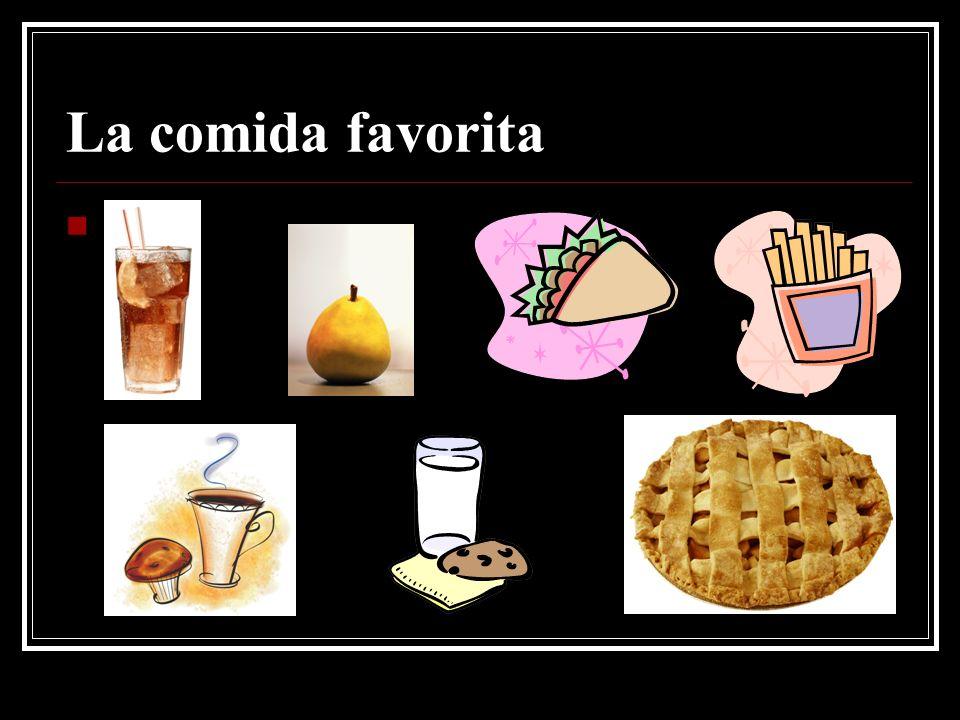 La comida favorita