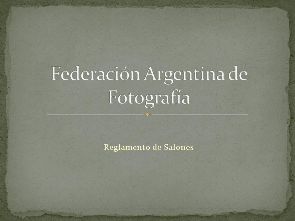 Las fotografías podrán ser realizadas por cualquier procedimiento fotográfico sin importar el medio (cámara analógica o cámara digital) por el cual han sido obtenidas.