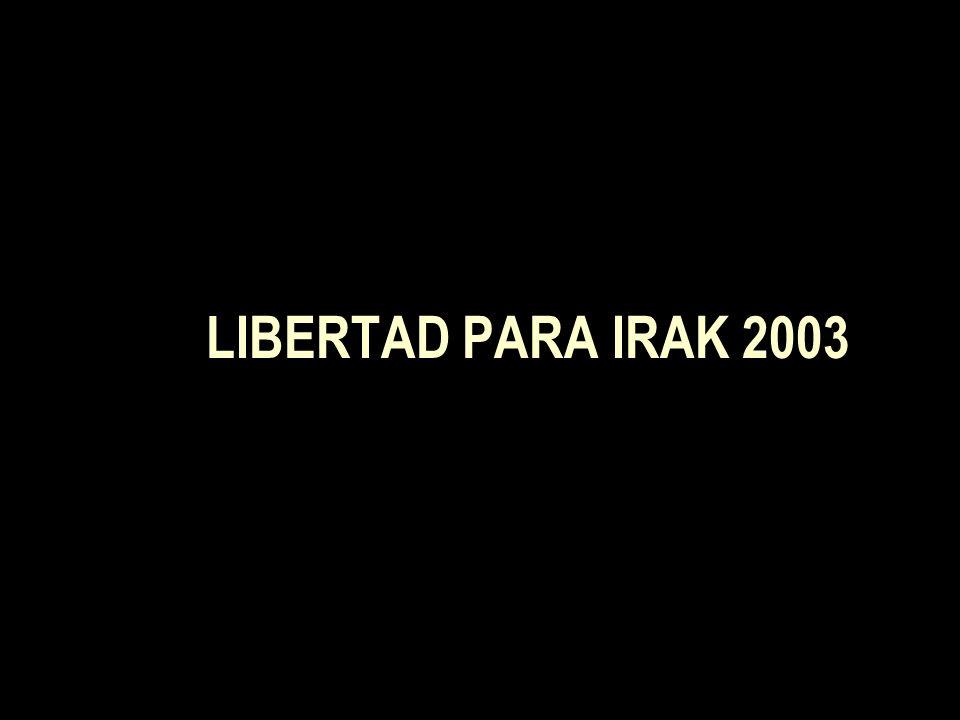 LIBERTAD PARA IRAK 2003