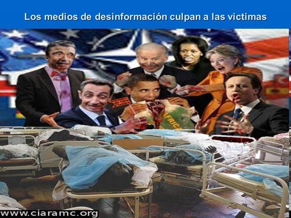 Los medios de desinformación culpan a las victimas