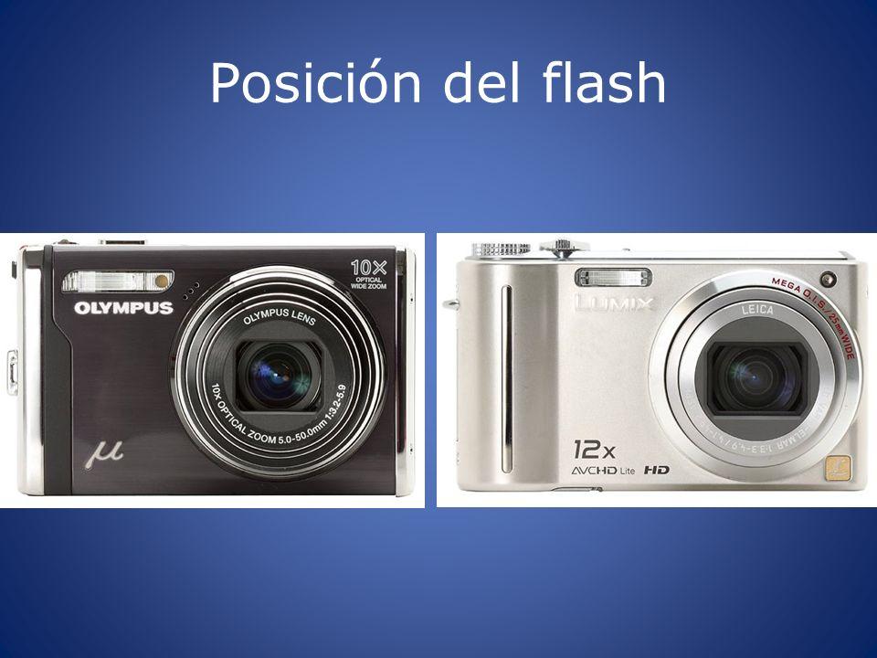 Posición del flash
