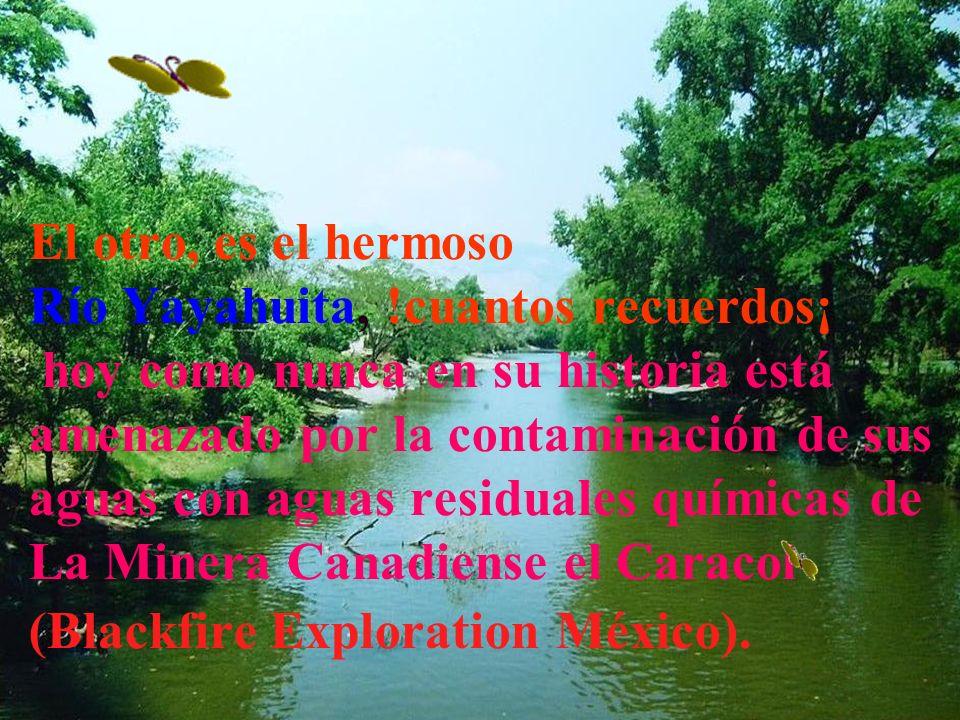 El Río Tachinula, es uno de sus símbolos mas atractivos, es nuestro patrimonio, nuestra identidad, recuerdos infantiles de descanso y diversión, símbo
