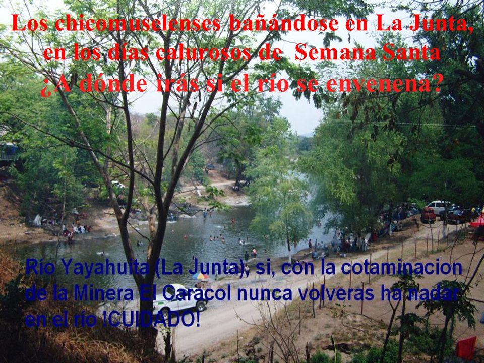 ZONA DE MINAS La Sierra de Chicomuselo principal fuente de agua, donde las empresas están buscando el oro La Cabecera Municipal podría sufrir de escas