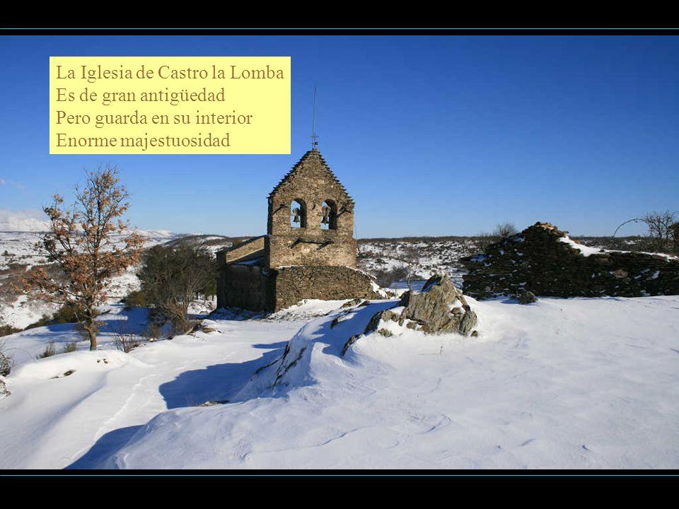 Dentro de la Iglesia de Salce Se encierra un gran tesoro Un retablo y unas tallas Que no se pagan con oro