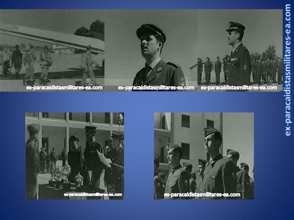 PIONEROS...1952PRIMER SALTO EN CAIDA LIBRE, Tte.