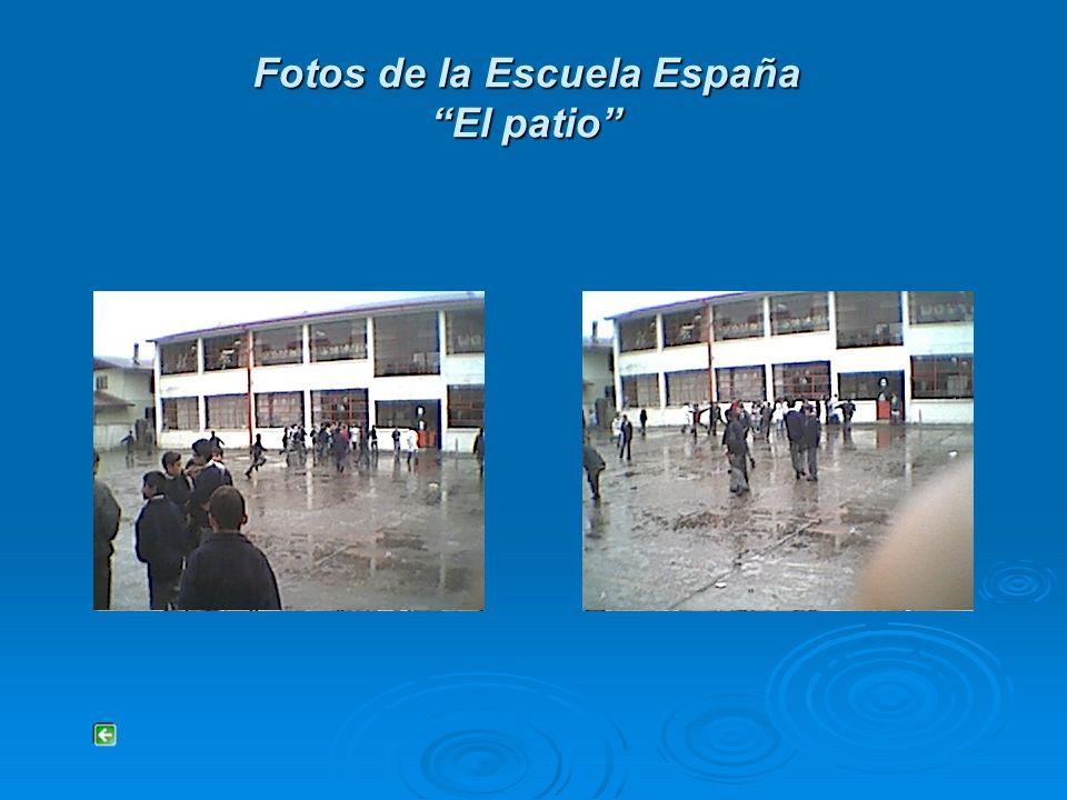 Fotos de la Escuela España Afiches