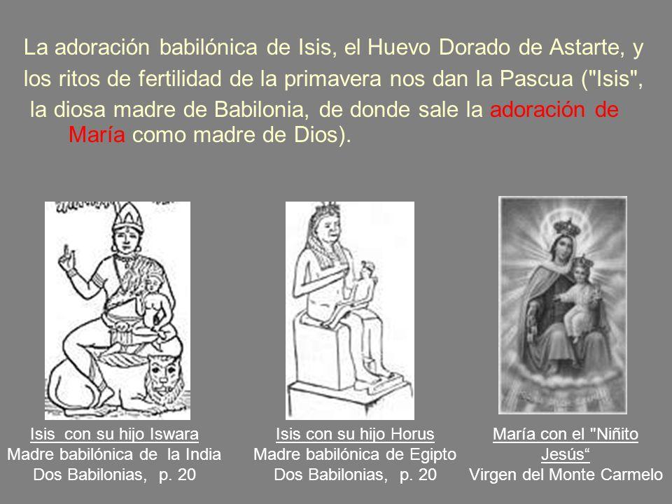 h.Toda forma de prácticas ocultistas tuvieron su origen en la ciudad original de Babilonia. i.En Isaías 47, Su reina, Semiramis, fue identificada con