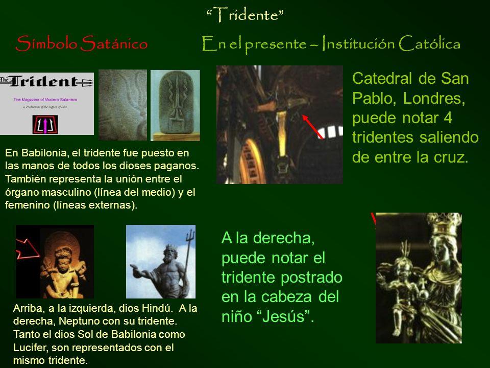 Símbolo SatánicoEn el presente – Institución Católica Corsier, bastón de serpiente diosa Atena, con el bastón corsier en forma de serpiente en su mano