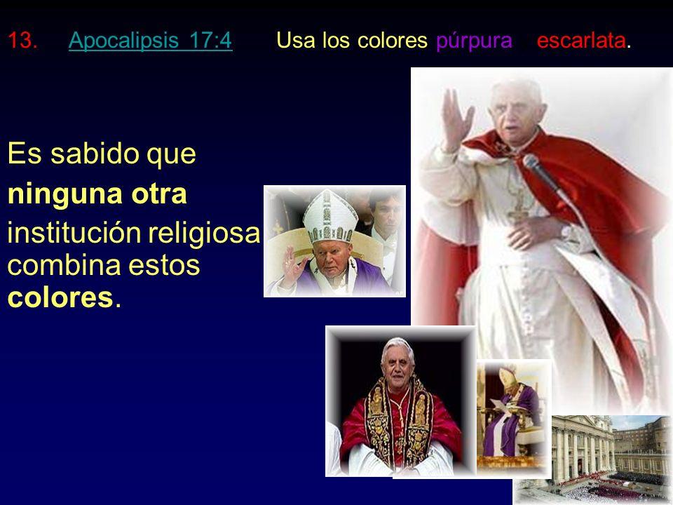 11.Apocalipsis 13:15Manda a matar a quien no le adore.Apocalipsis 13:15 Fue el sistema papal quien guió a Hitler para destruir a más de 6 millones de