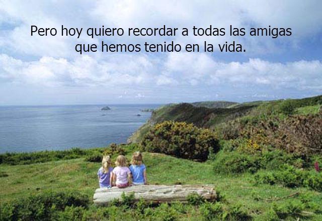 Todas las personas quedan en nuestra memoria, en nuestros hábitos, en nuestras fotos, en nuestros secretitos...