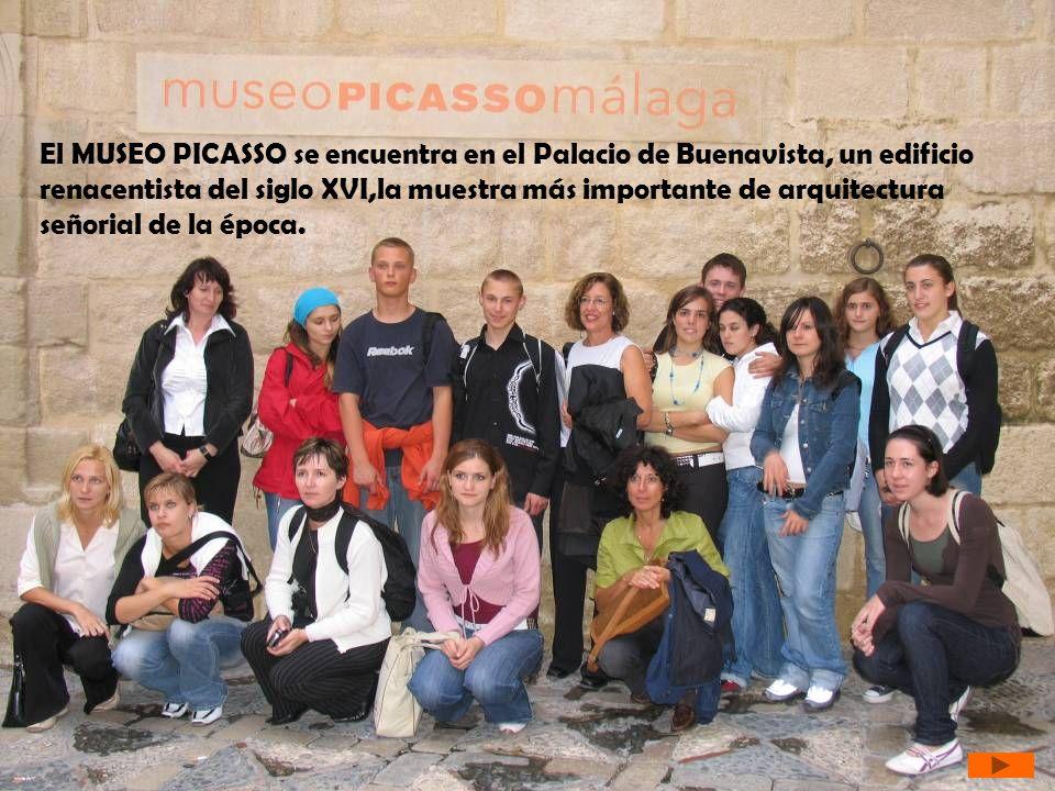 El MUSEO PICASSO se encuentra en el Palacio de Buenavista, un edificio renacentista del siglo XVI,la muestra más importante de arquitectura señorial d